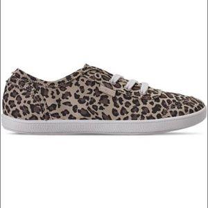 🎉Bobs Memory Foam Leopard Print Sneakers